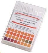 HACH - Papel de pH. (Paquete de 100 unidades)