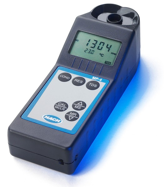 HACH - Multiparámetro Portátil MP-4 (EC,TDS,Resistividad y Temperatura)