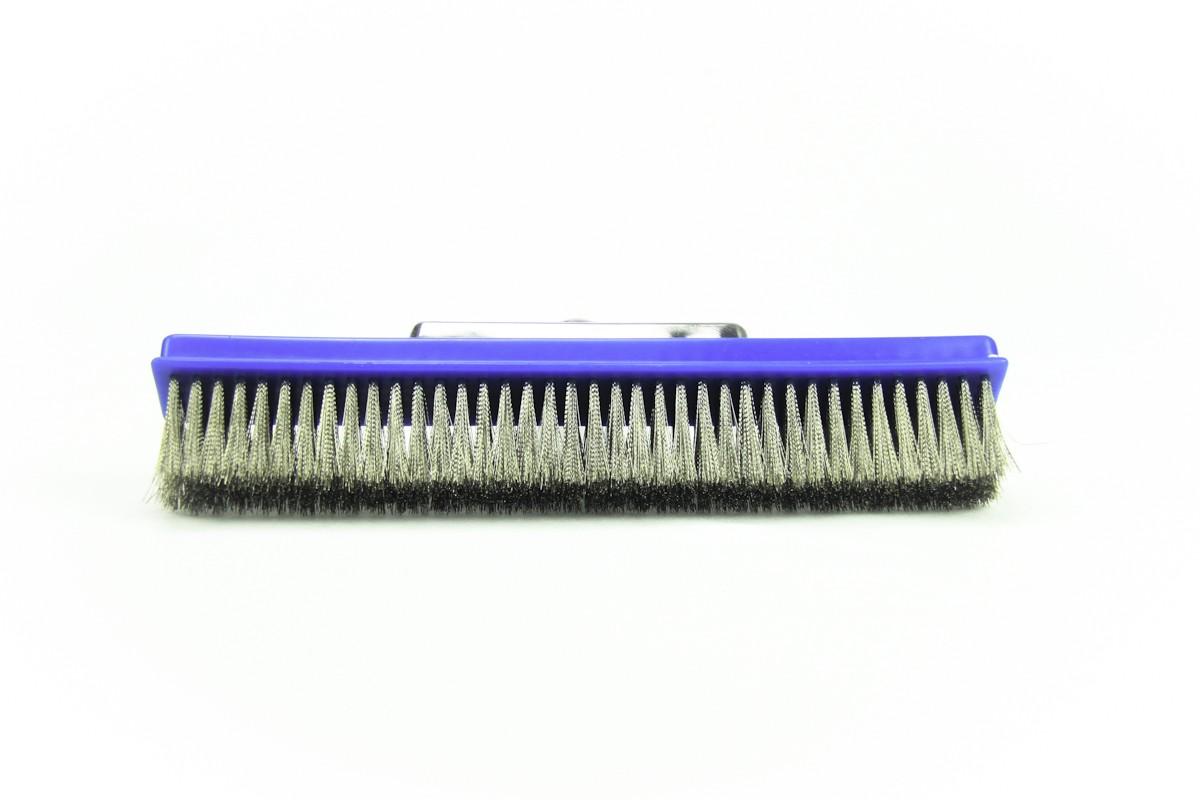 POOL PERFECT – Cepillo Reforzado con Cerdas de Acero (10 Pulgadas)