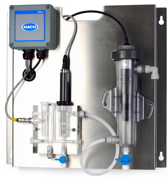HACH - Analizador de Cloro Amperométrico CL10sc