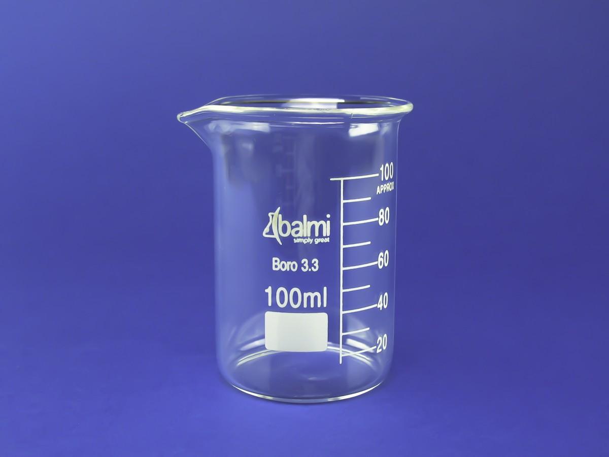 BALMI - Vaso de Precipitado (Beaker) de 100ml