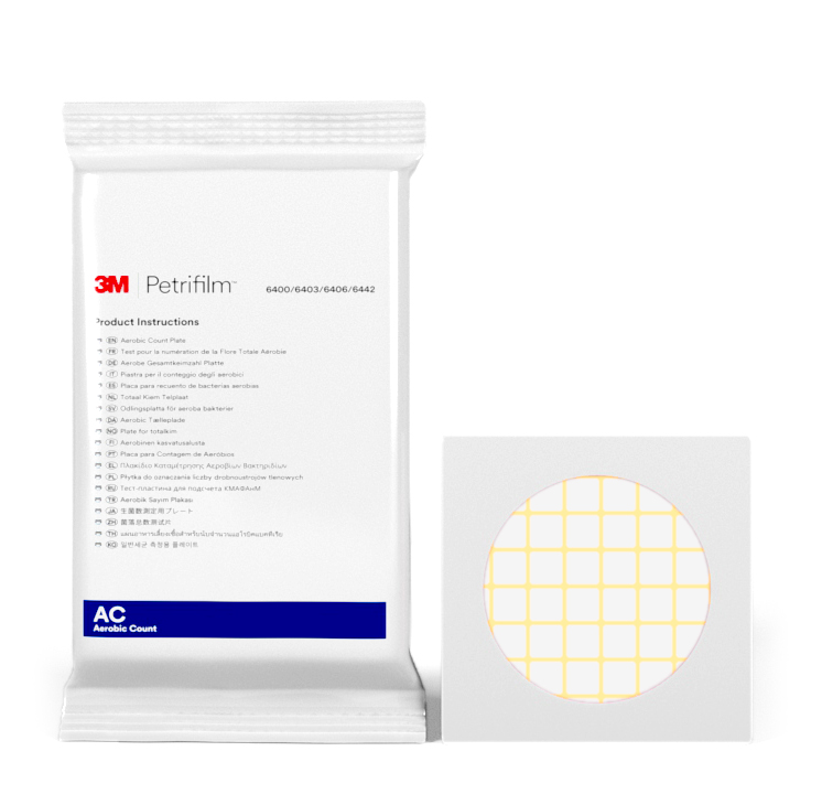 Placas Petrifilm™ para Recuento de Aerobios