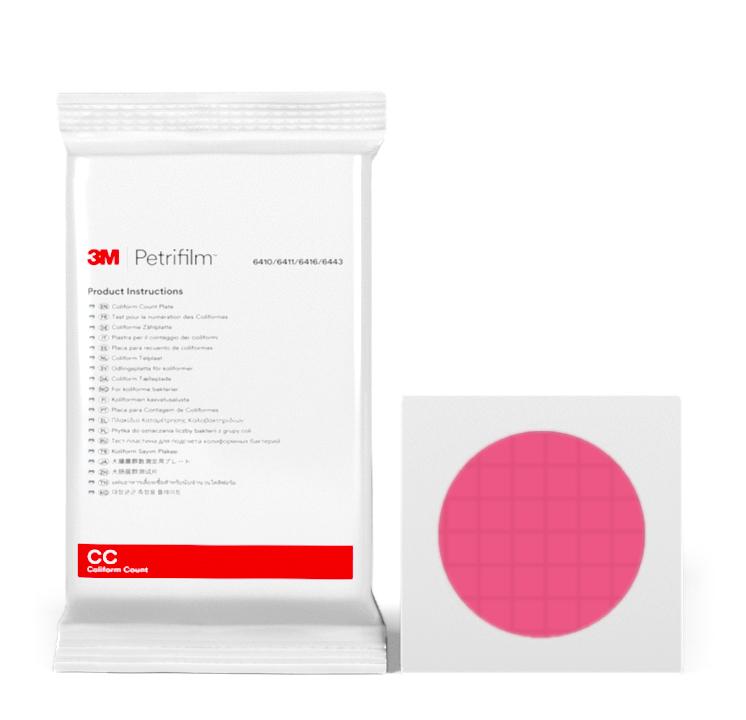 Placas Petrifilm™ para Recuento de Coliformes