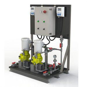 Milton Roy – DOSASKID™ – Sistema de Dosificación Química Estándar
