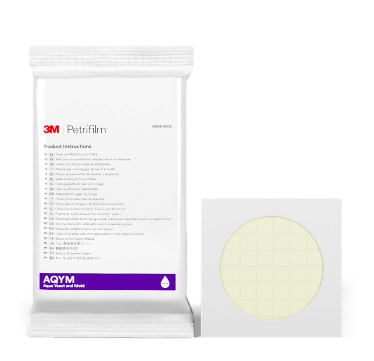 Placas Petrifilm™ Aqua para Recuento de Hongos y Levaduras