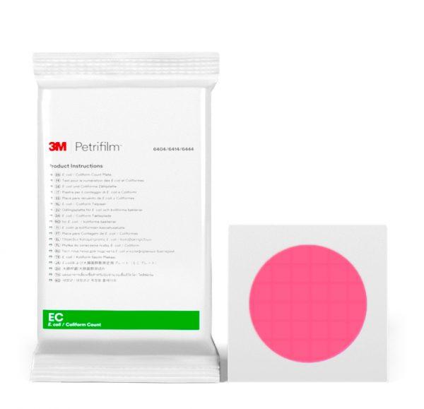 Placas Petrifilm™ para Recuento de E. coli y Coliformes