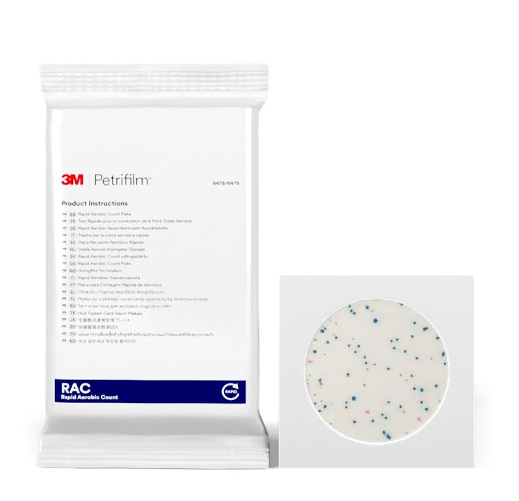Placas Petrifilm™ para Recuento rápido de Aerobios