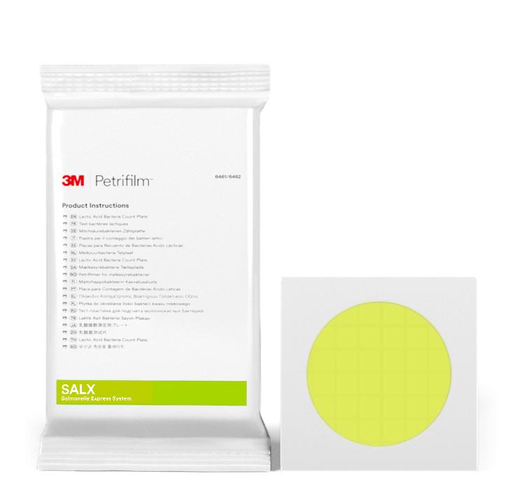 Placas Petrifilm™ para detección de Salmonella Express