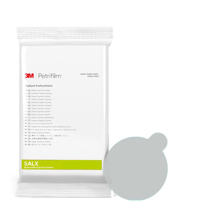 Petrifilm™ Discos de Confirmación Salmonella Express
