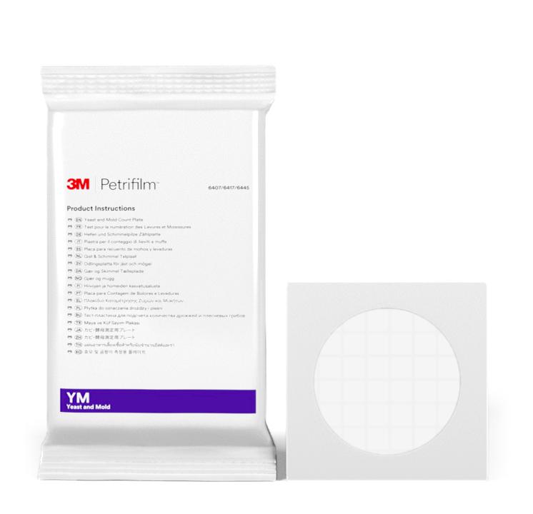 Placas Petrifilm™ para Recuento de Hongos y Levaduras
