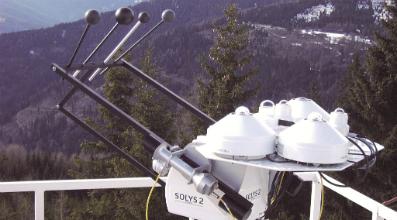 Kipp and Zonen estación de monitoreo