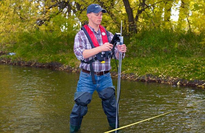 Ott HydroMet, medición en aguas superficiales