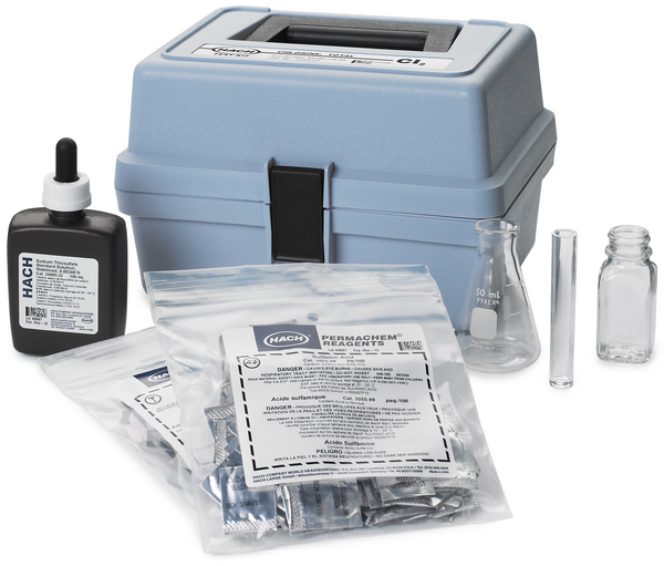 Test kits de valoración por recuento de gotas